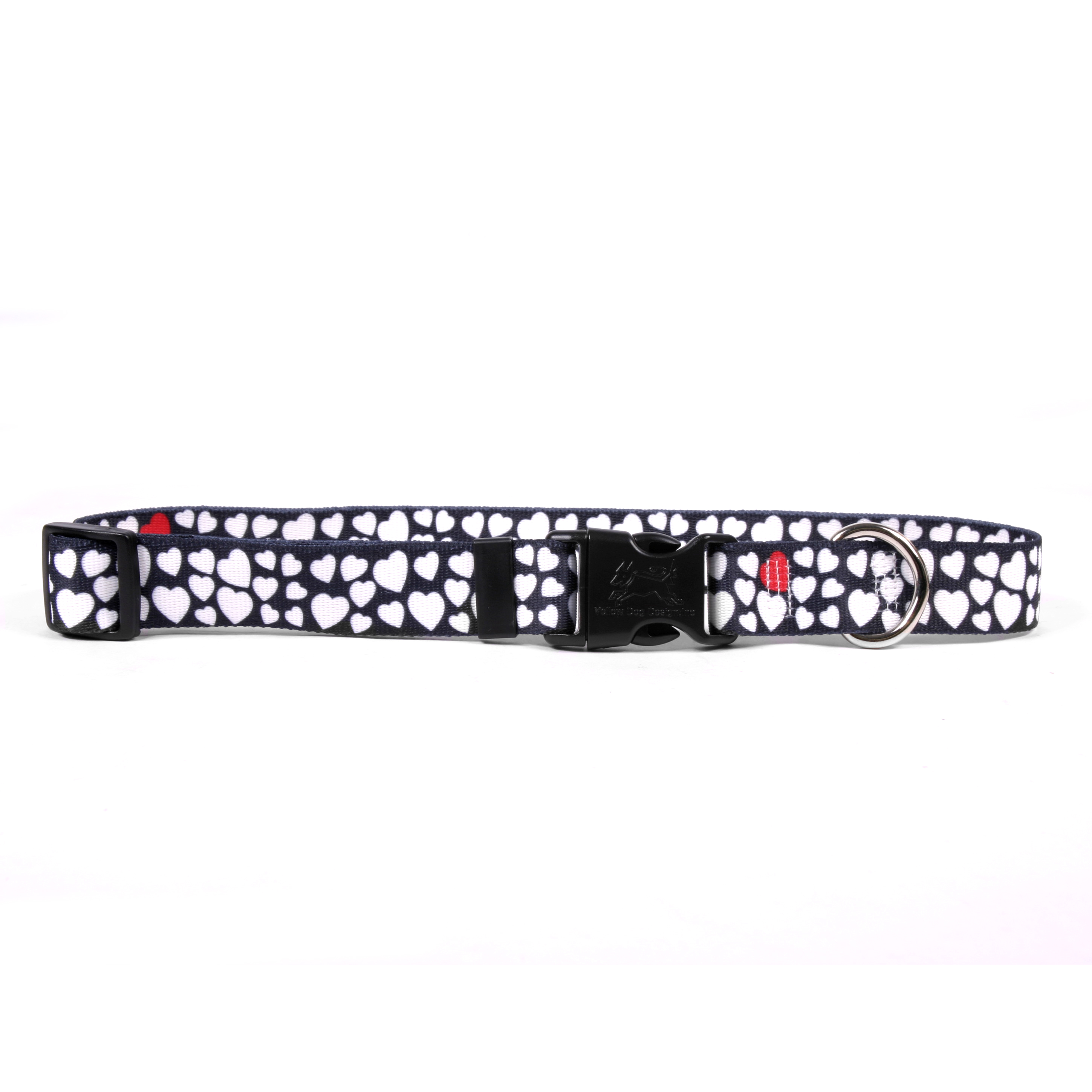 White Hearts Standard Collar
