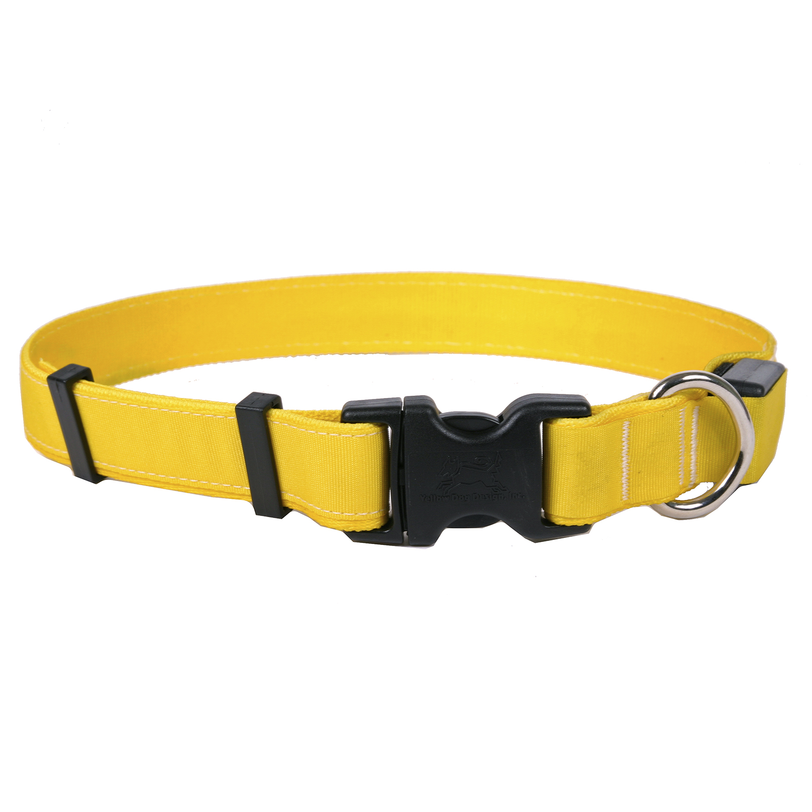 Solid Yellow ORION LED Dog Collar