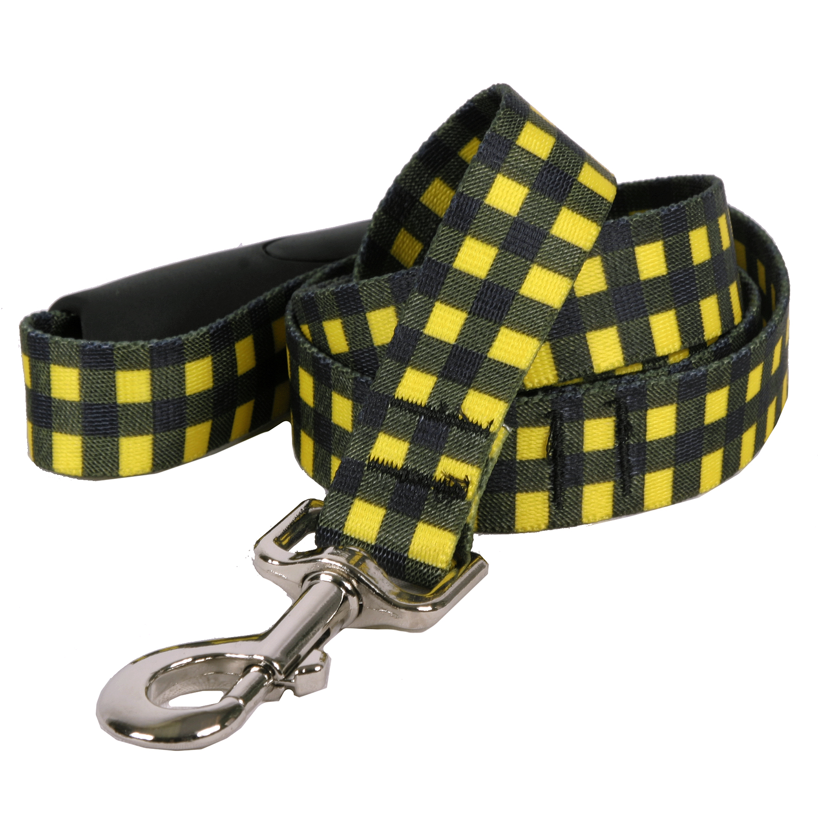 Buffalo Plaid Yellow EZ-Lead