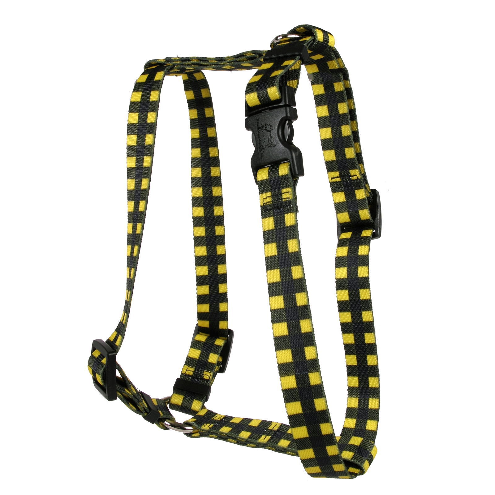 Buffalo Plaid Yellow Roman H Harness