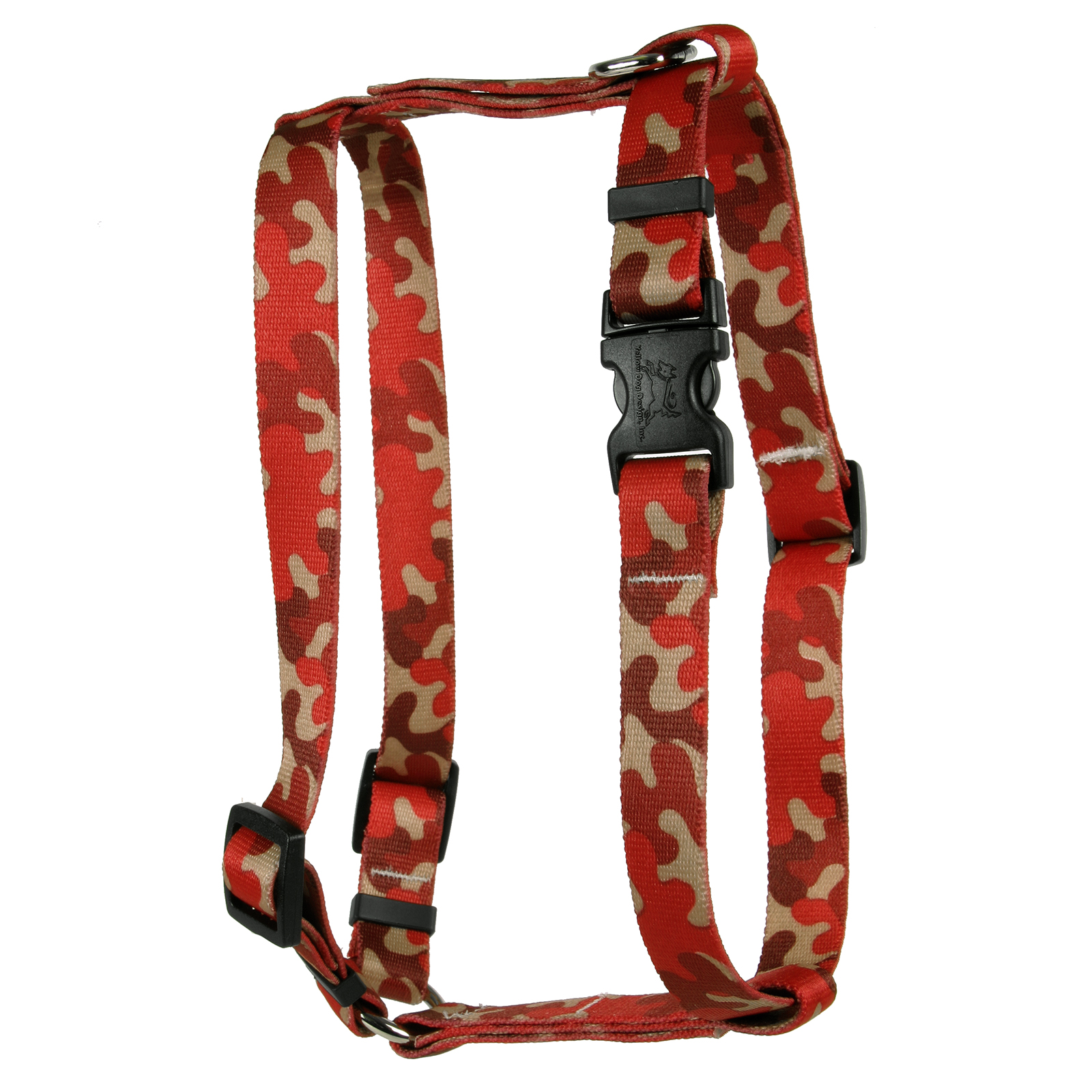 Camo Red Roman H Harness