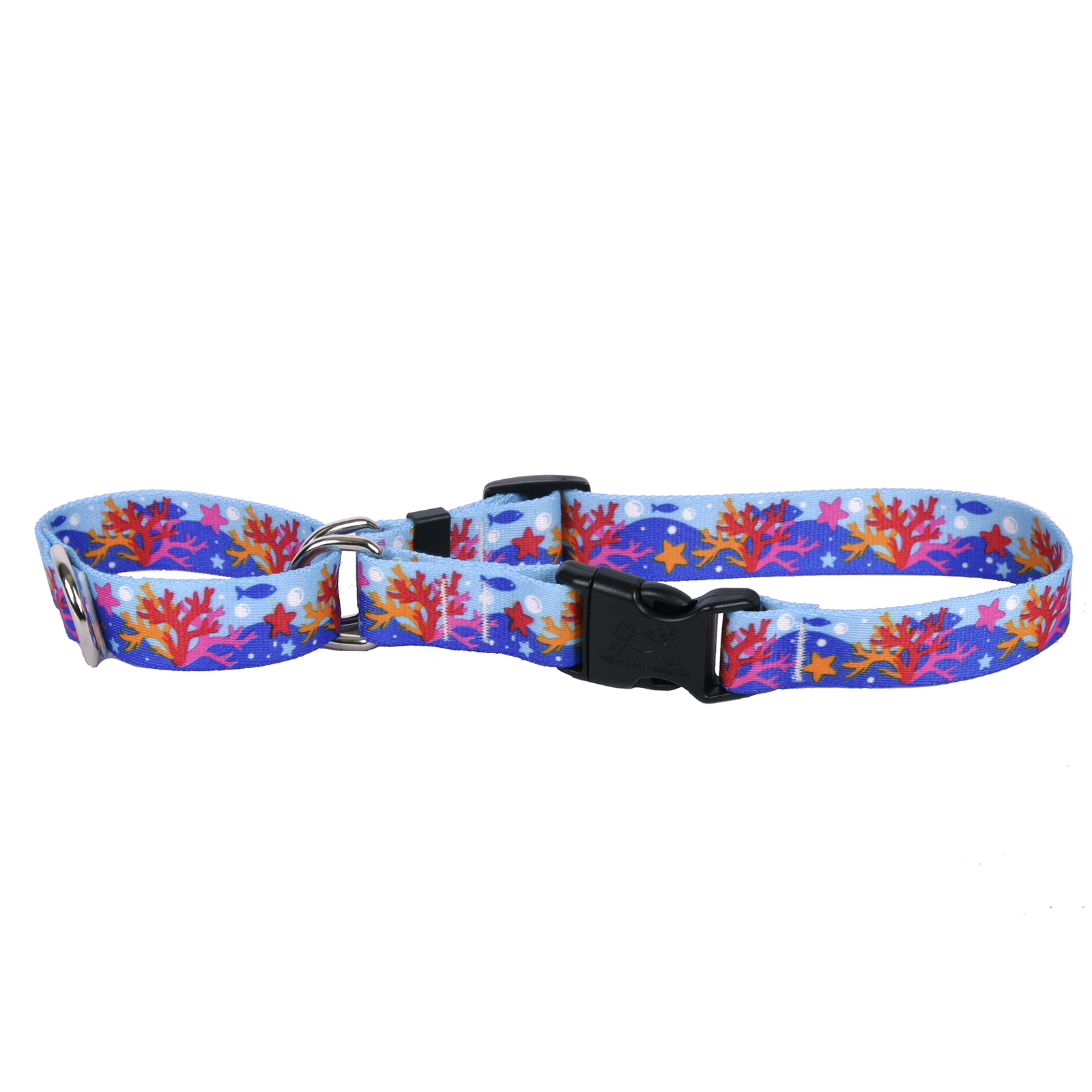 Coral Reef Martingale Collar
