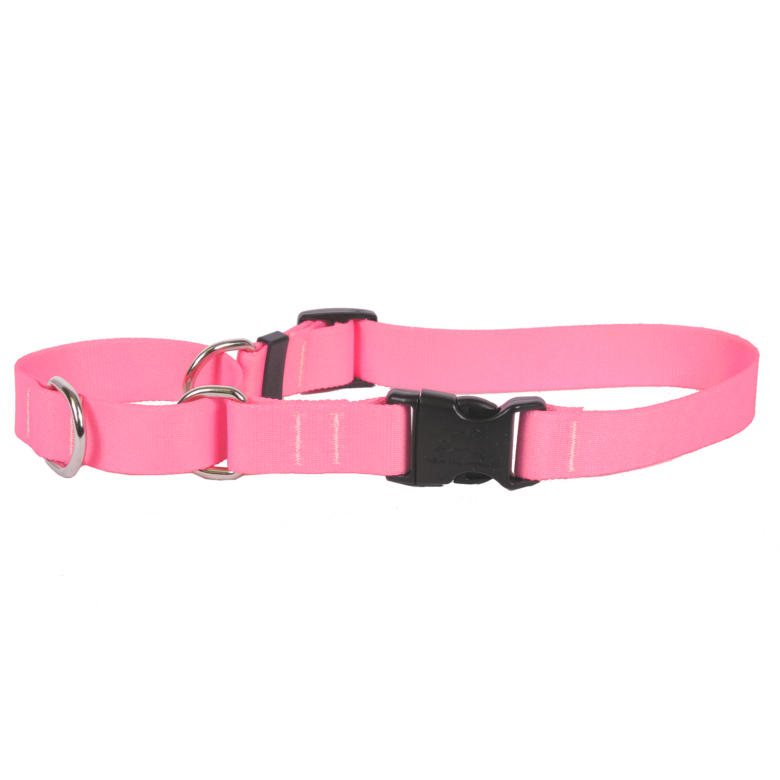 Light Pink Simple Solid Martingale Collar