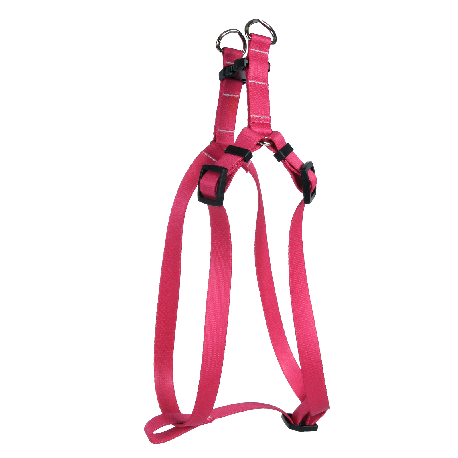 Magenta Simple Solid Step-In Harness