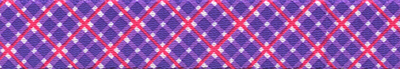 Purple and Pink Diagonal Plaid