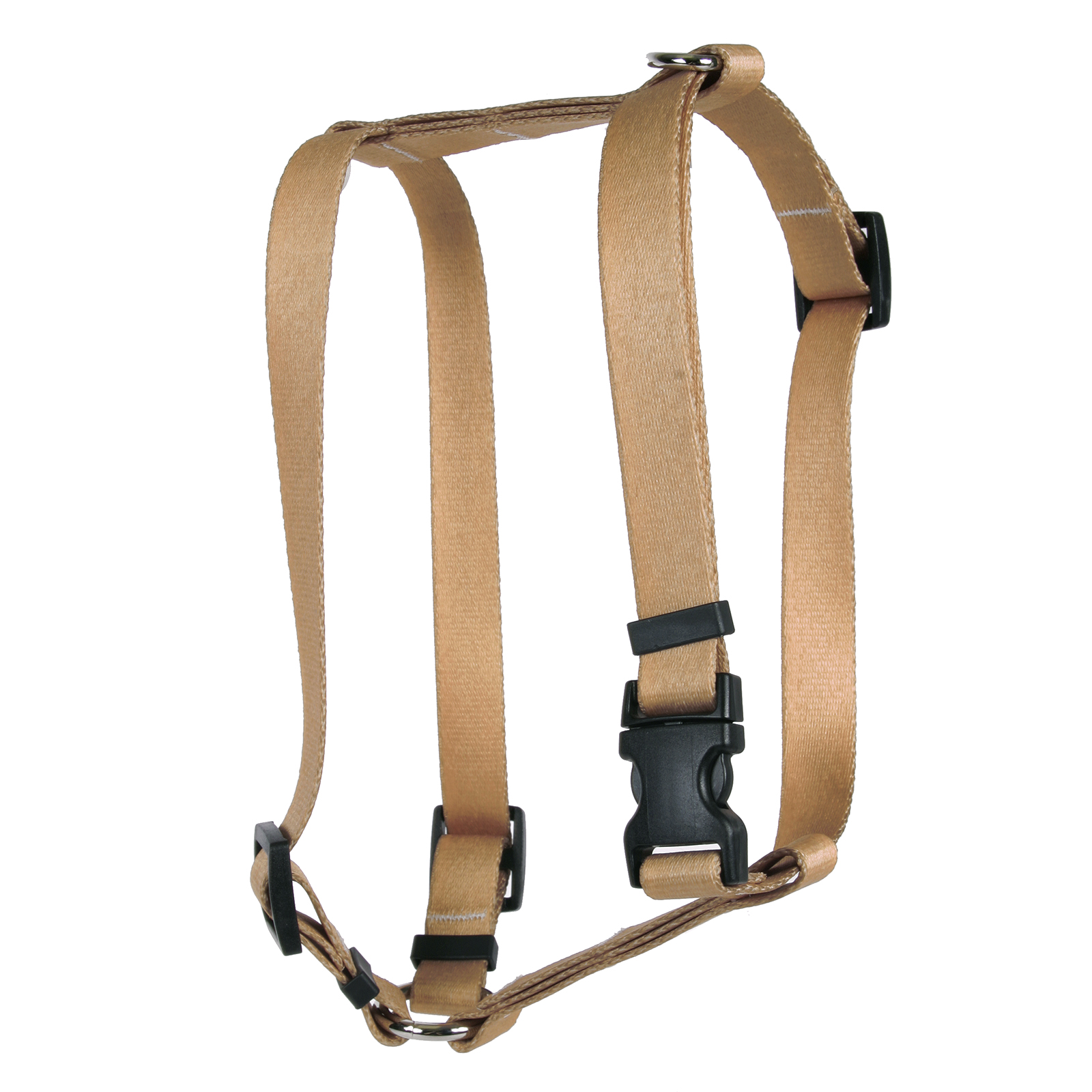 Tan Simple Solid Roman H Harness