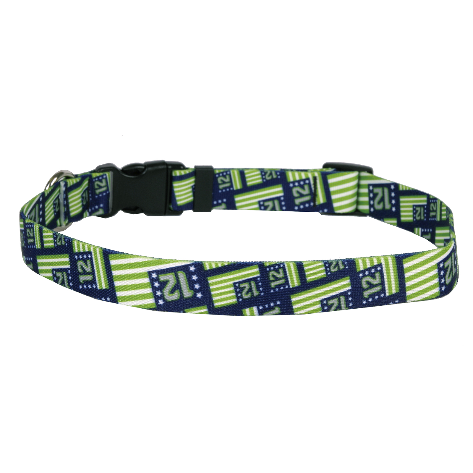 12th Dog Flags Standard Collar