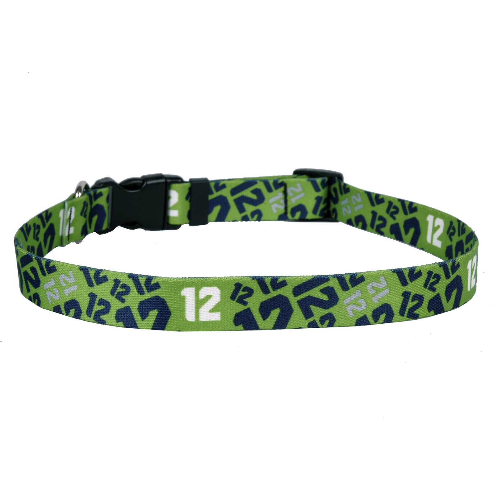 12th Dog Green Standard Collar