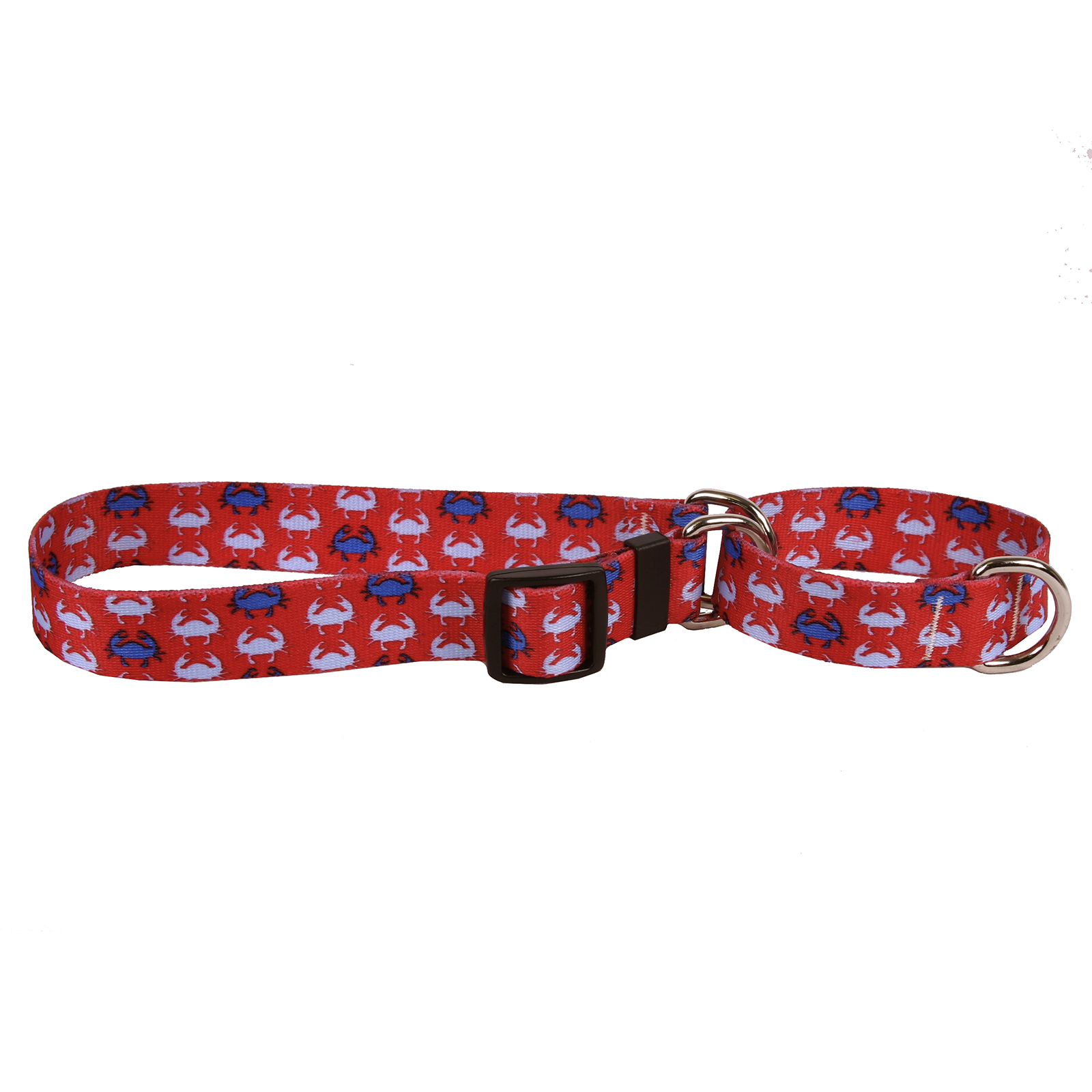 Blue Crabs Martingale Collar