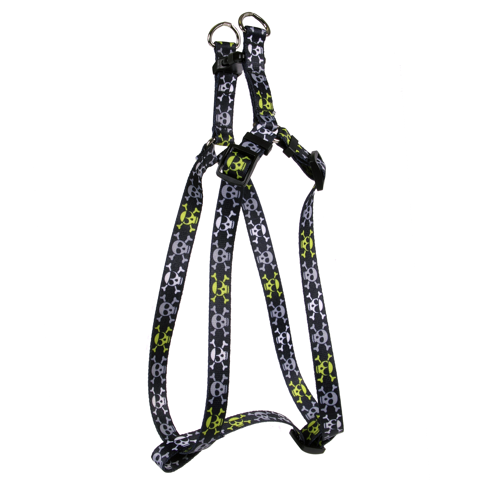 Boy Skulls Step-In Harness