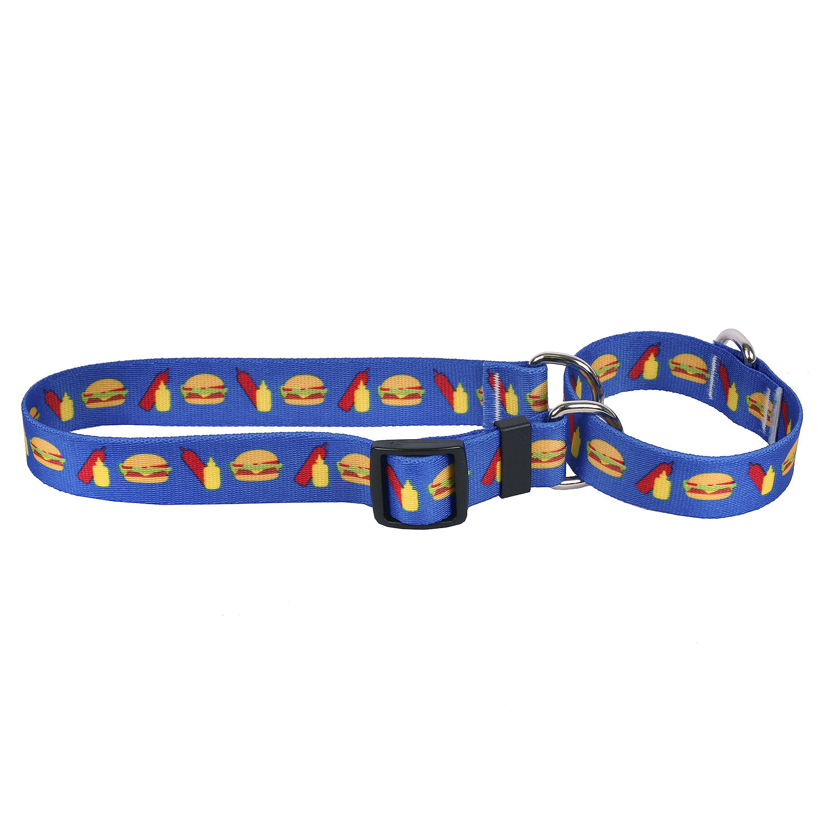 Cheeseburgers Martingale Collar