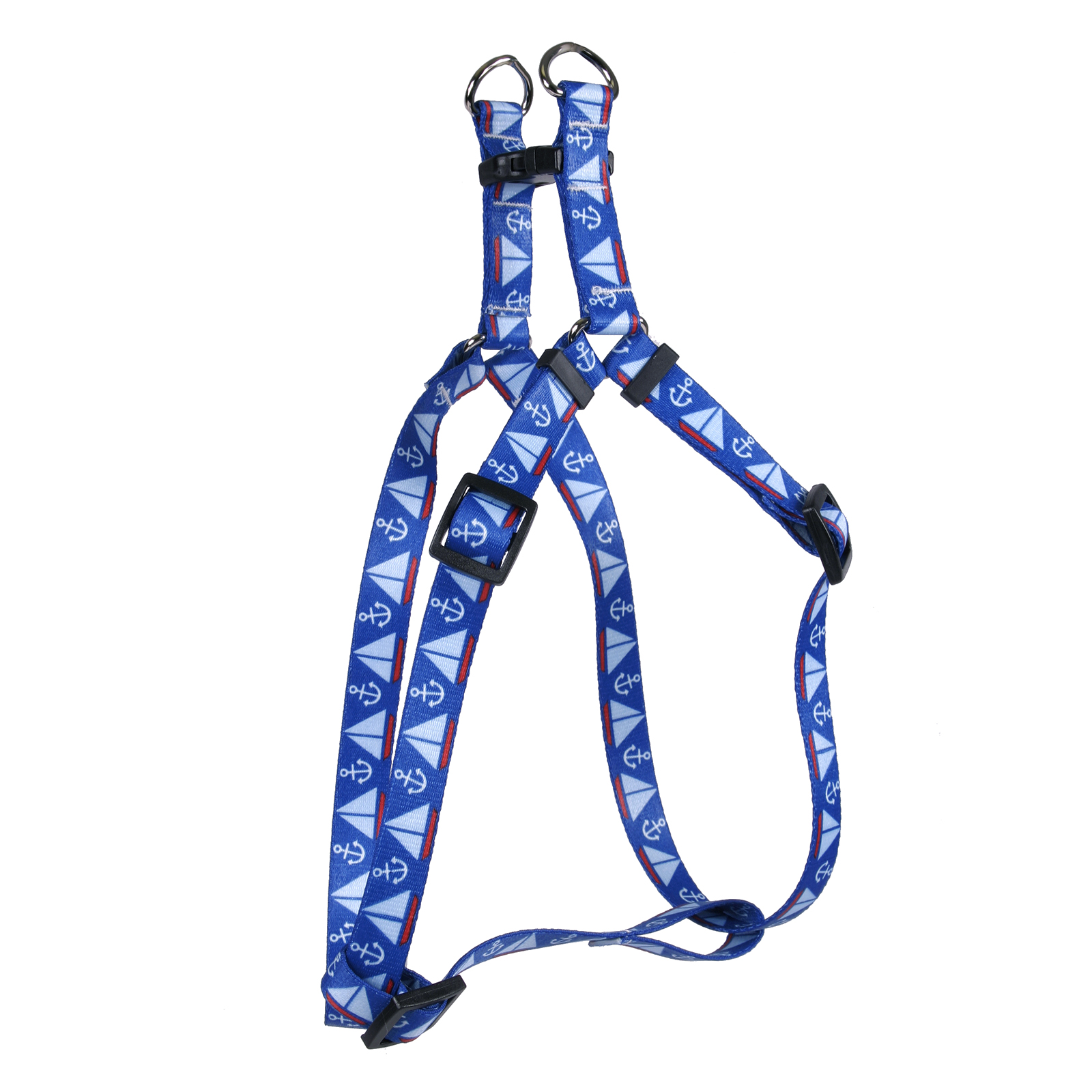 Sailboats & Anchors Step-In Harness