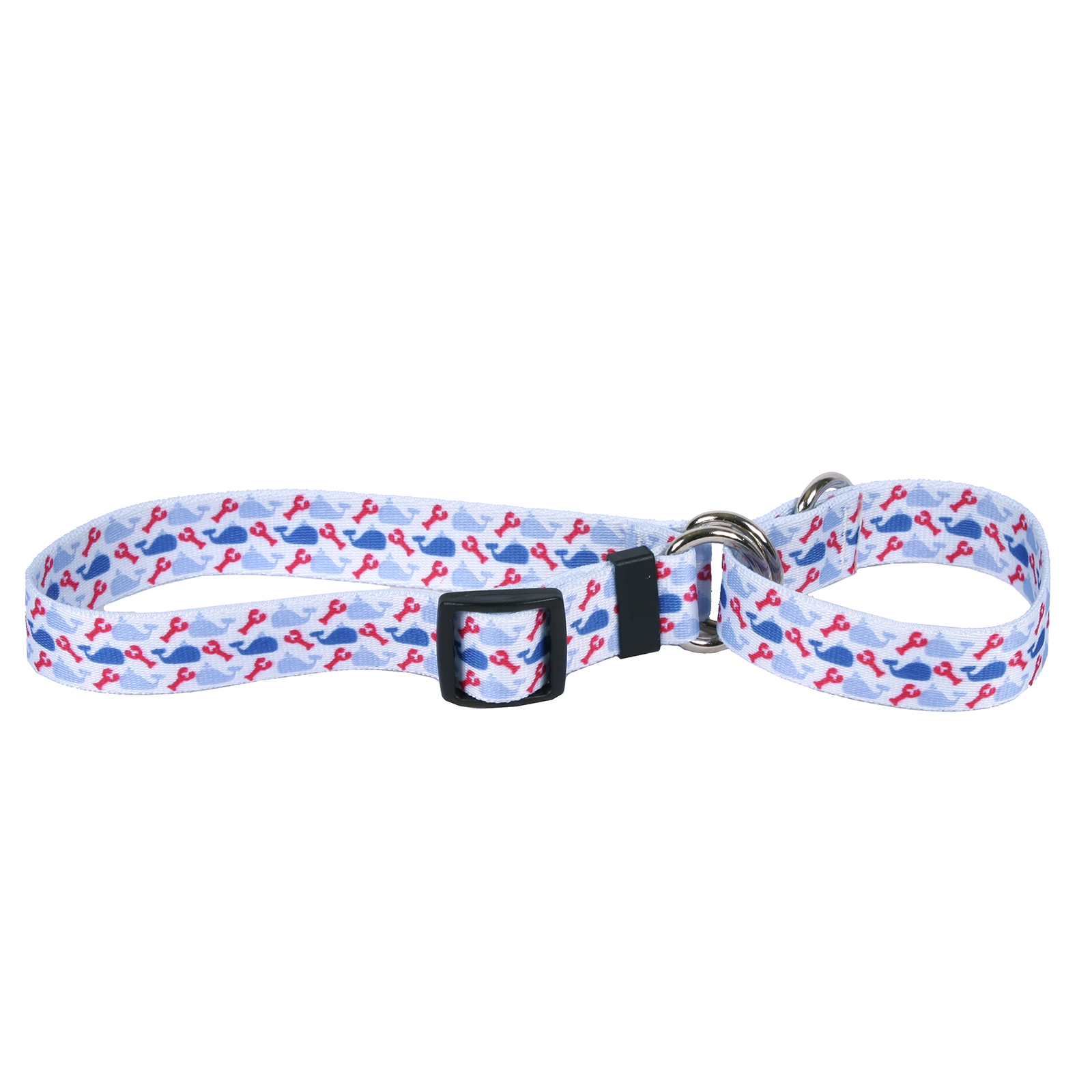 Whales & Lobsters Martingale Collar