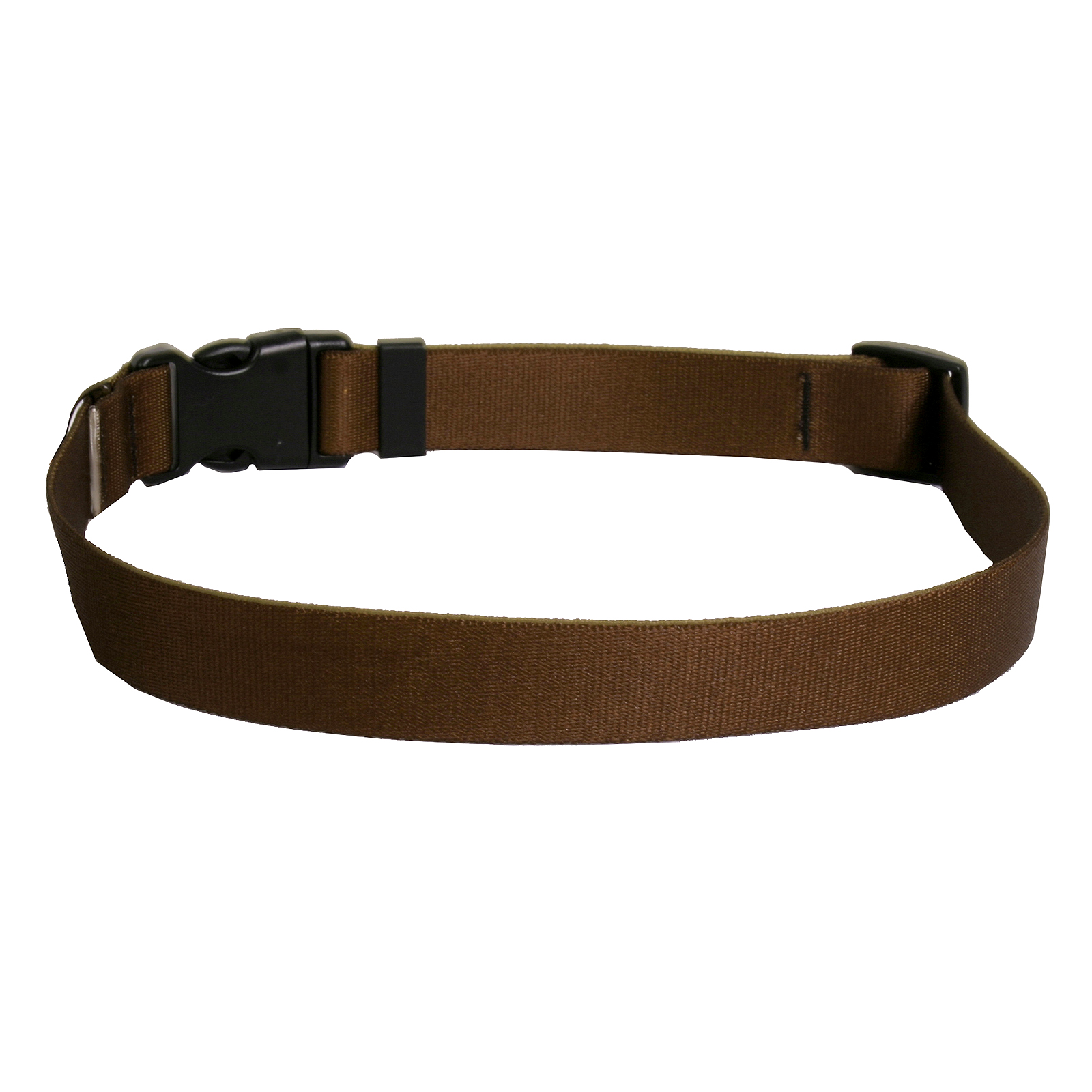Solid Brown Standard Collar