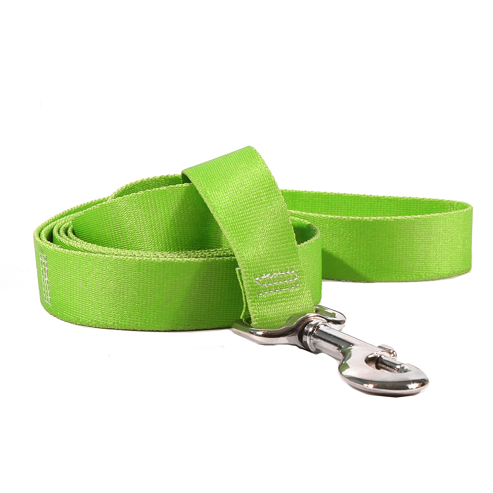Solid Spring Green Martingale Collar