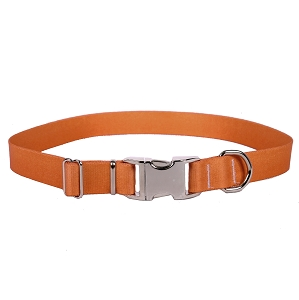 Sterling Solid Collection Salmon Dog Collar