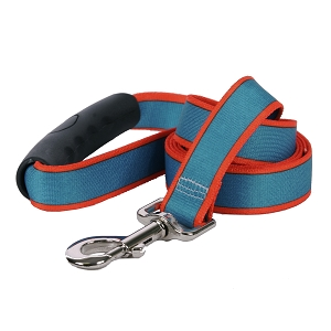 Sterling Stripes Collection Teal and Orange EZ-Grip Dog Lead