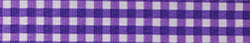 Gingham Purple