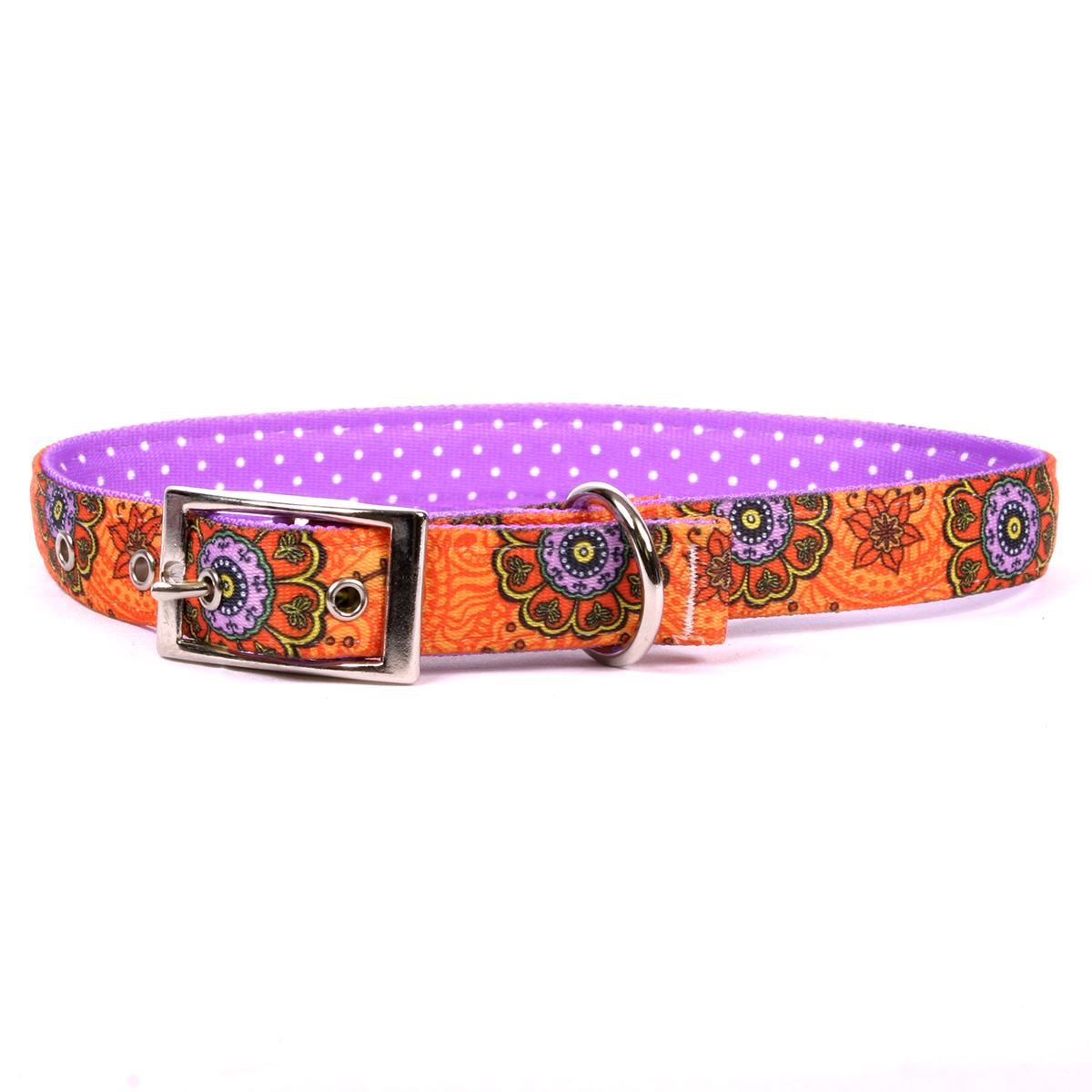Folk Flowers Uptown Collar