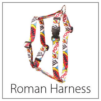 Roman H Dog Harness