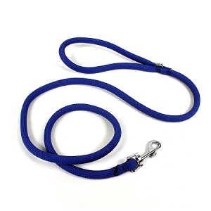Round Braided Royal Blue Rope Lead
