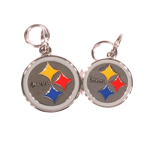 Pittsburgh Steelers Engraved Pet ID Tag