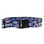 New England Patriots 2 Inch Wide Collar