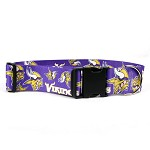 Minnesota Vikings 2 Inch Wide Collar