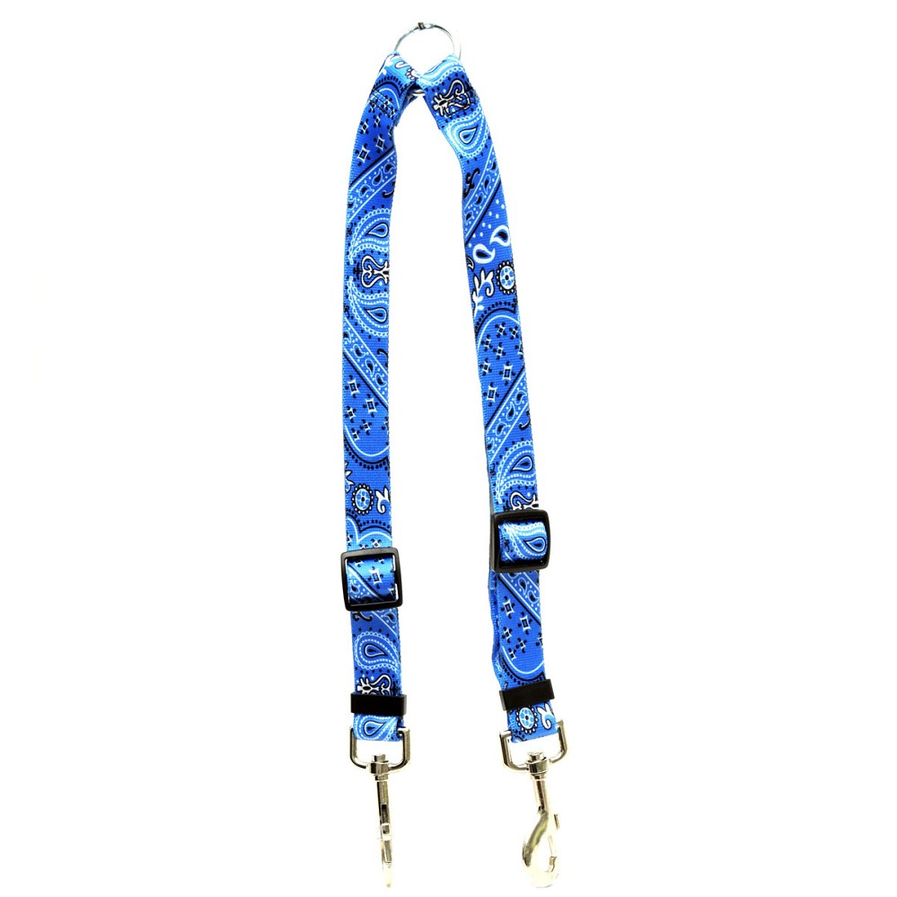 Bandana Blue Coupler Lead