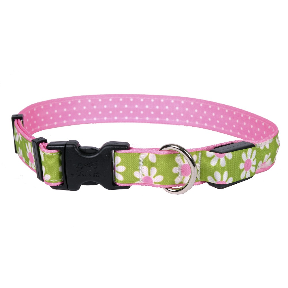 Green Daisy ORION LED Dog Collar