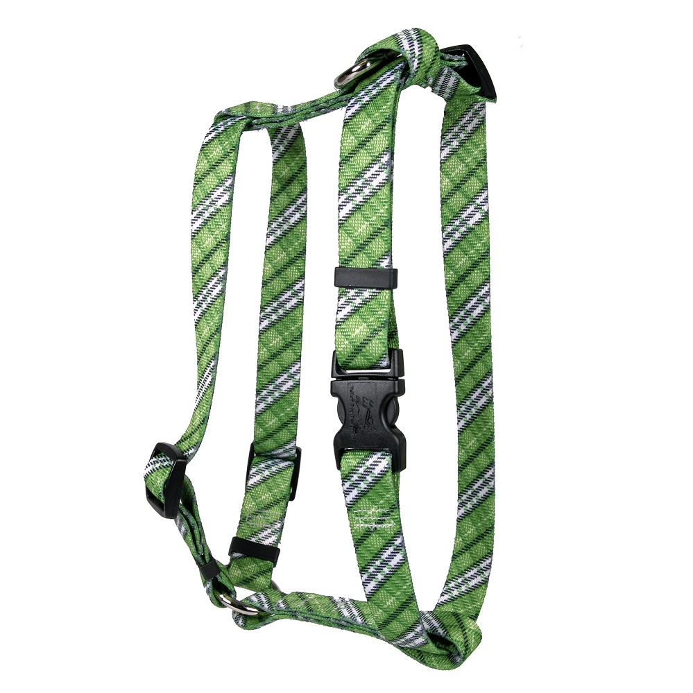 London Plaid Kelly Green Roman H Harness