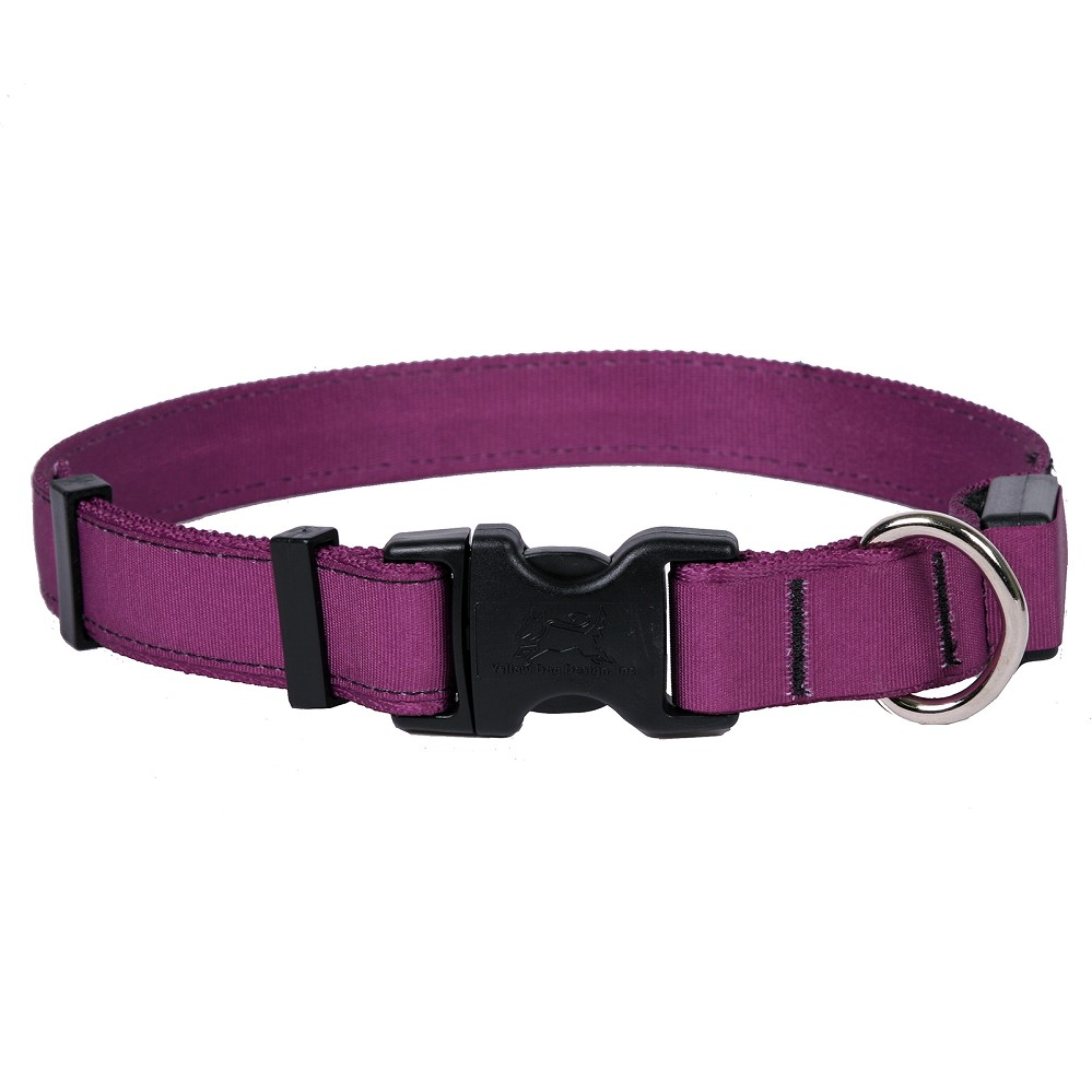 Solid Plum ORION LED Dog Collar