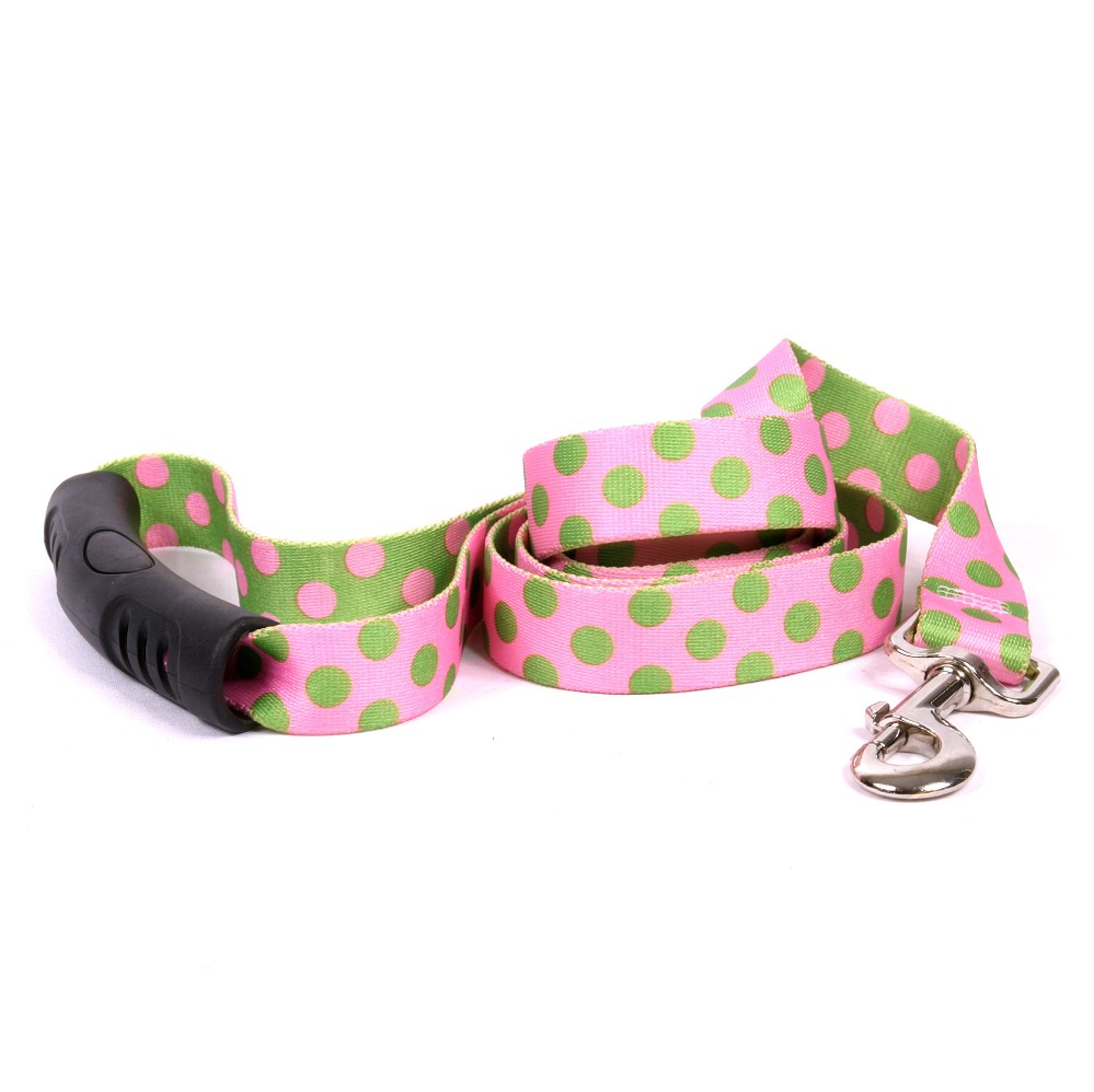 Pink and Green Polka Dot EZ-Lead