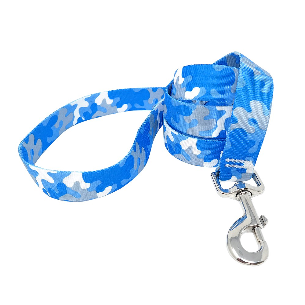 Light Blue & Grey Camo Lead