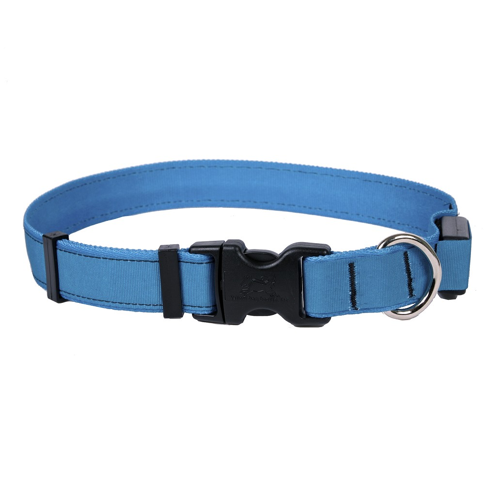 Solid Teal ORION LED Dog Collar