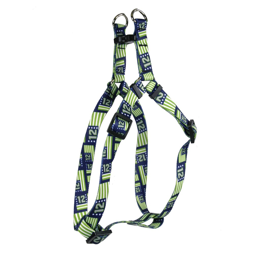 12th Dog Flags Step-In Harness