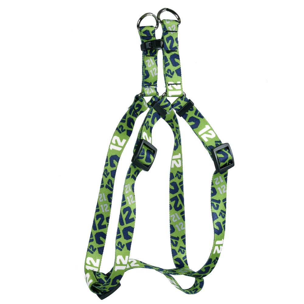 12th Dog Green Step-In Harness