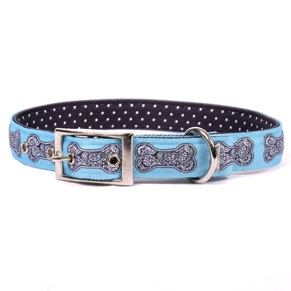 Bella Bone Blue Uptown Collar