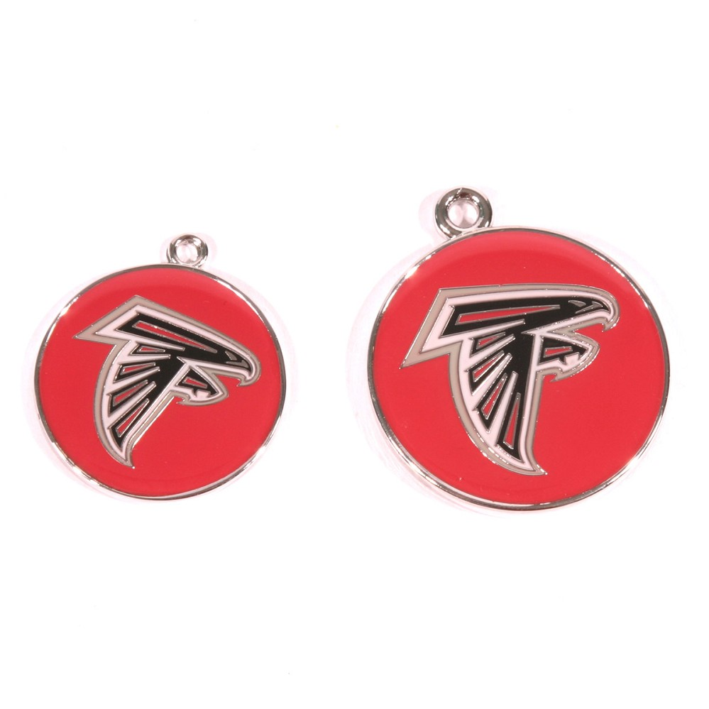 Atlanta Falcons Engraved Pet ID Tag