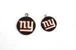NY Giants Engraved Pet ID Tag