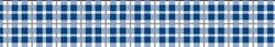 Preppy Plaid Blue Waist Walker