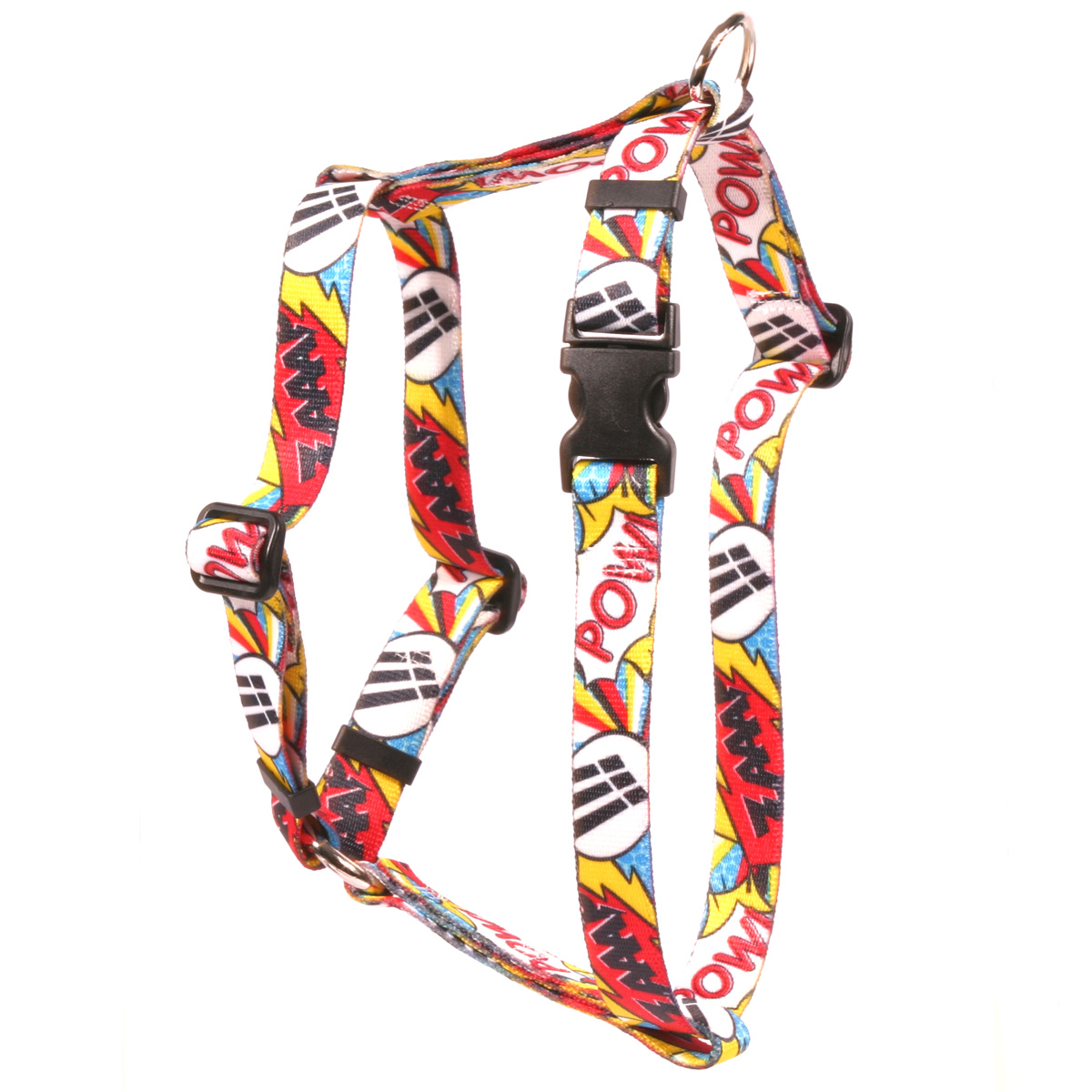 Comic Print Roman H Harness