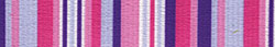 Purple and Pink Stripes Standard Collar