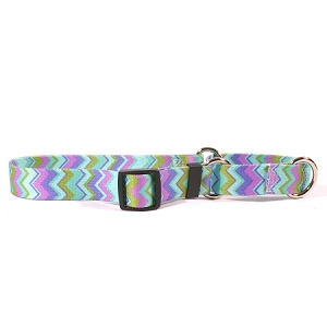 Chevy Stripe Blue Martingale Collar
