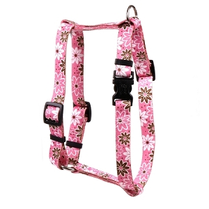 Daisy Chain Pink Roman H Harness