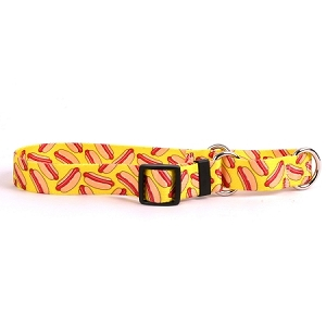 Hot Dogs Martingale Collar