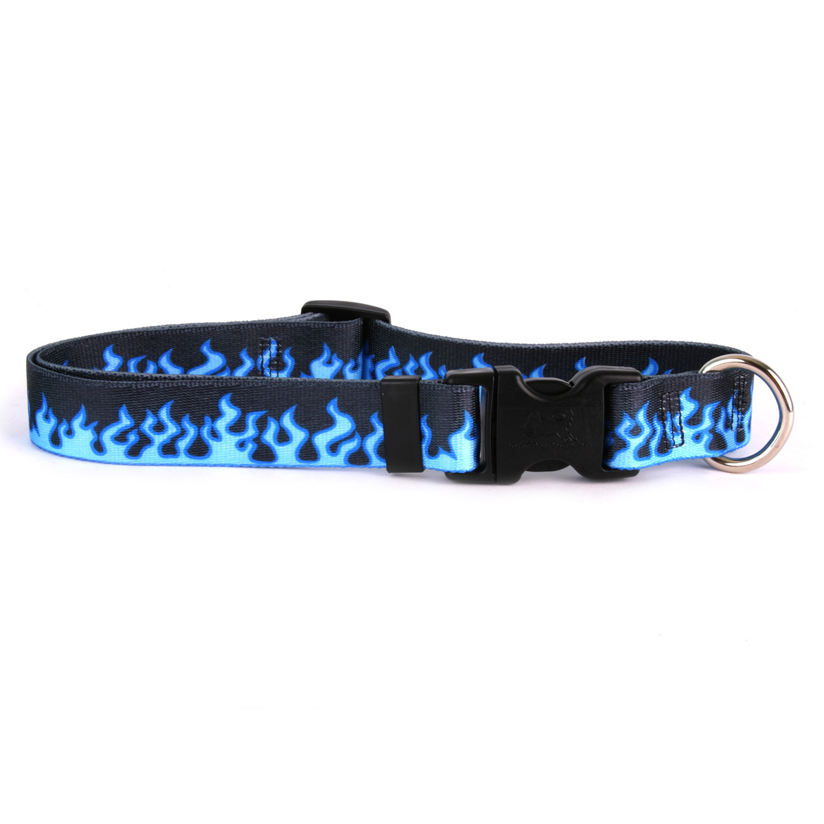 Blue Flames Standard Collar