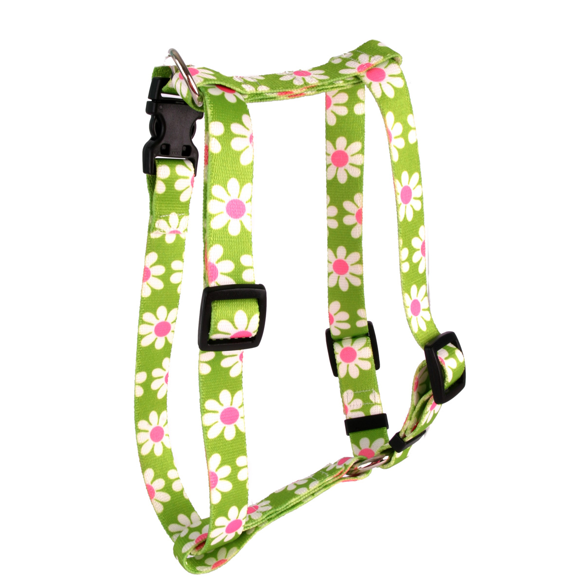 Green Daisy Roman H Harness