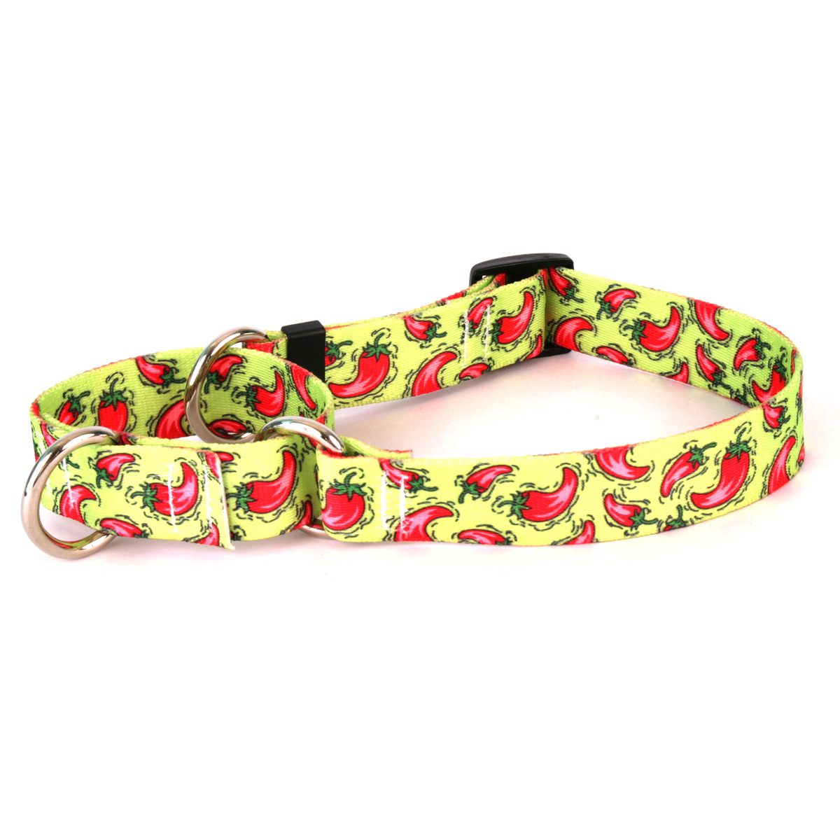 Hot Peppers Martingale Collar