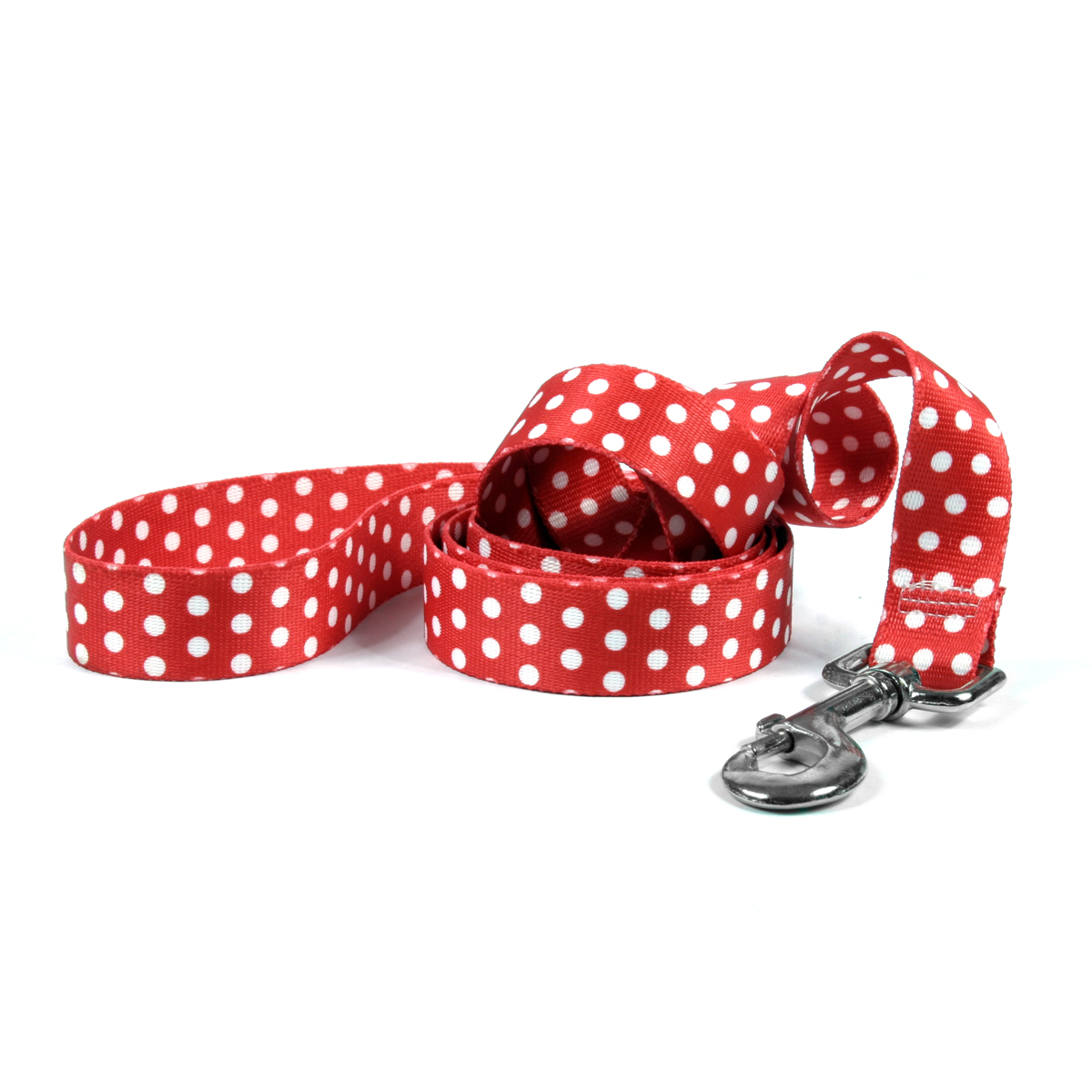 New Red Polka Dot Lead